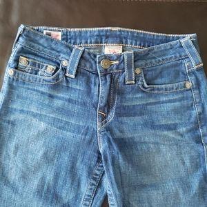 True Religion Boot Wide Leg Jeans